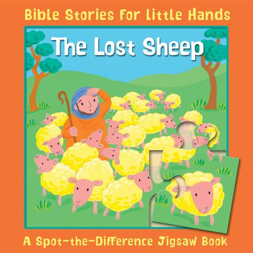The Lost Sheep: Spot-the-Difference Jigsaw Book