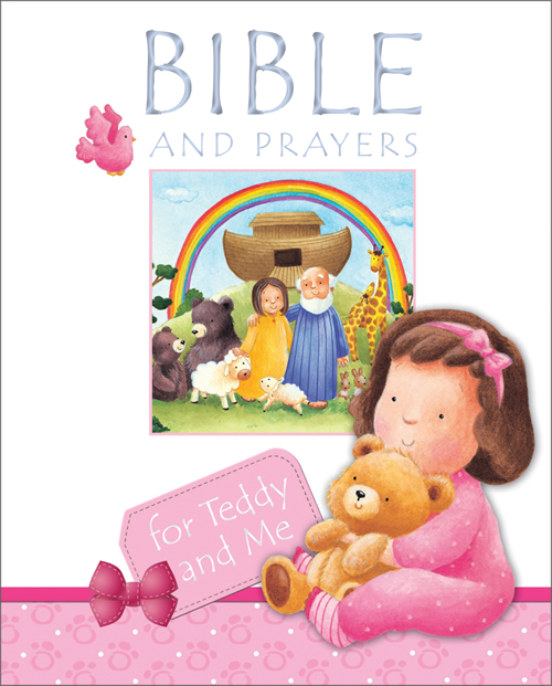 Bible and Prayers for Teddy and Me, pink