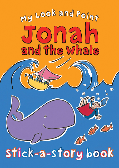 My Look and Point Jonah and the Whale Stick-a-Story