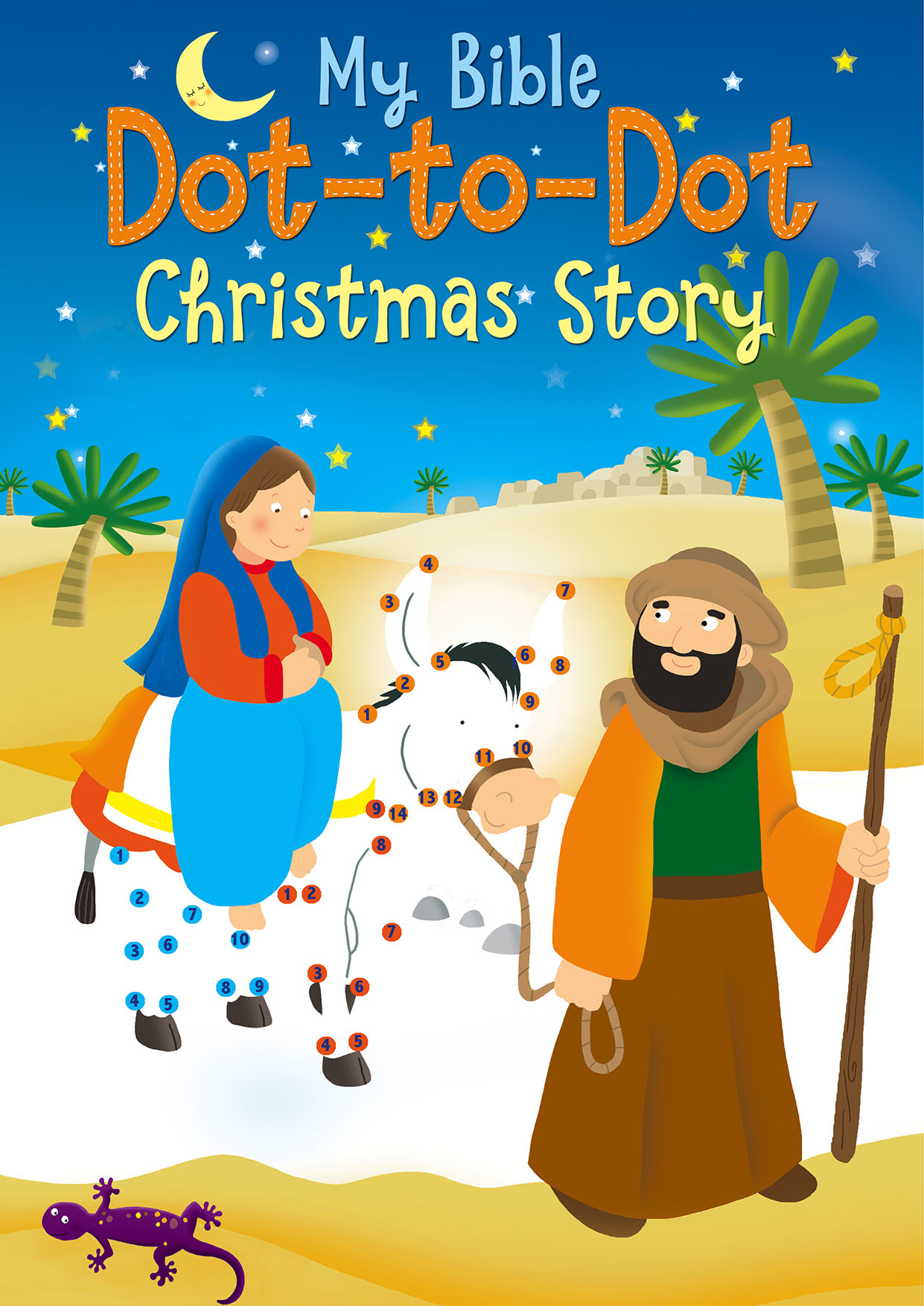 My Bible Dot-to-Dot Christmas Story