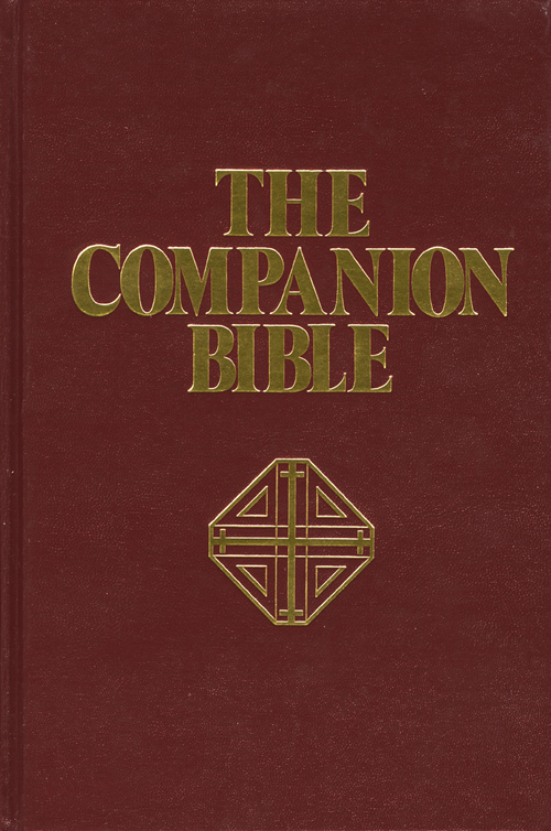 The Companion Bible, Burgundy with Index