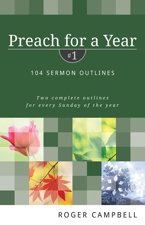 Preach for a Year, Volume 1