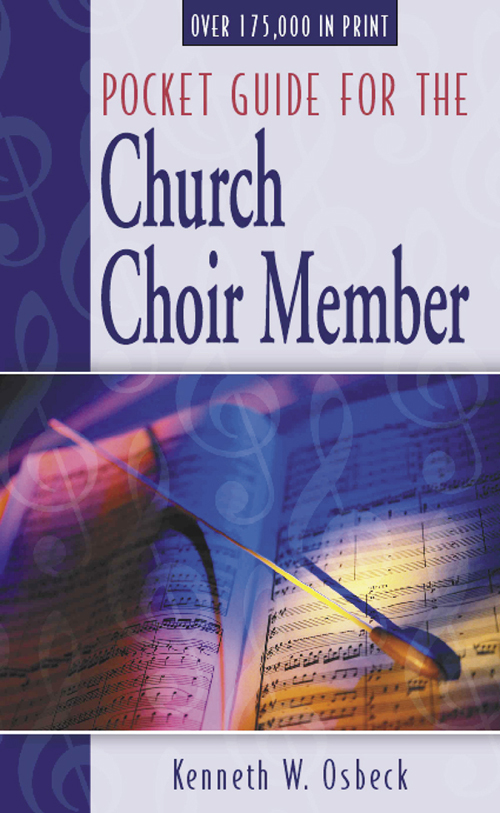 Pocket Guide for the Church Choir Member, 12 Pack