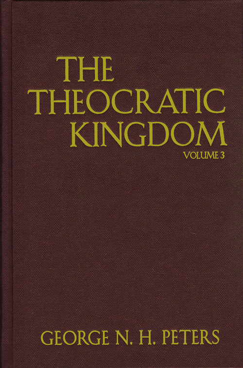 The Theocratic Kingdom, 3-Volume Set