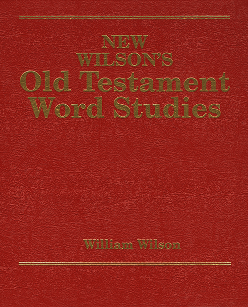 New Wilson's Old Testament Word Studies