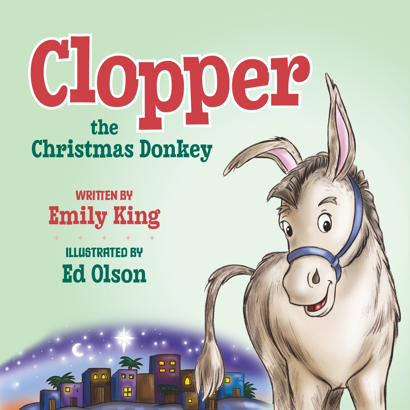 Clopper, the Christmas Donkey