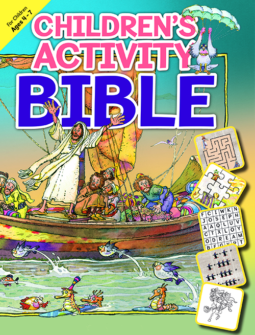 Children's Activity Bible - Ages 4-7