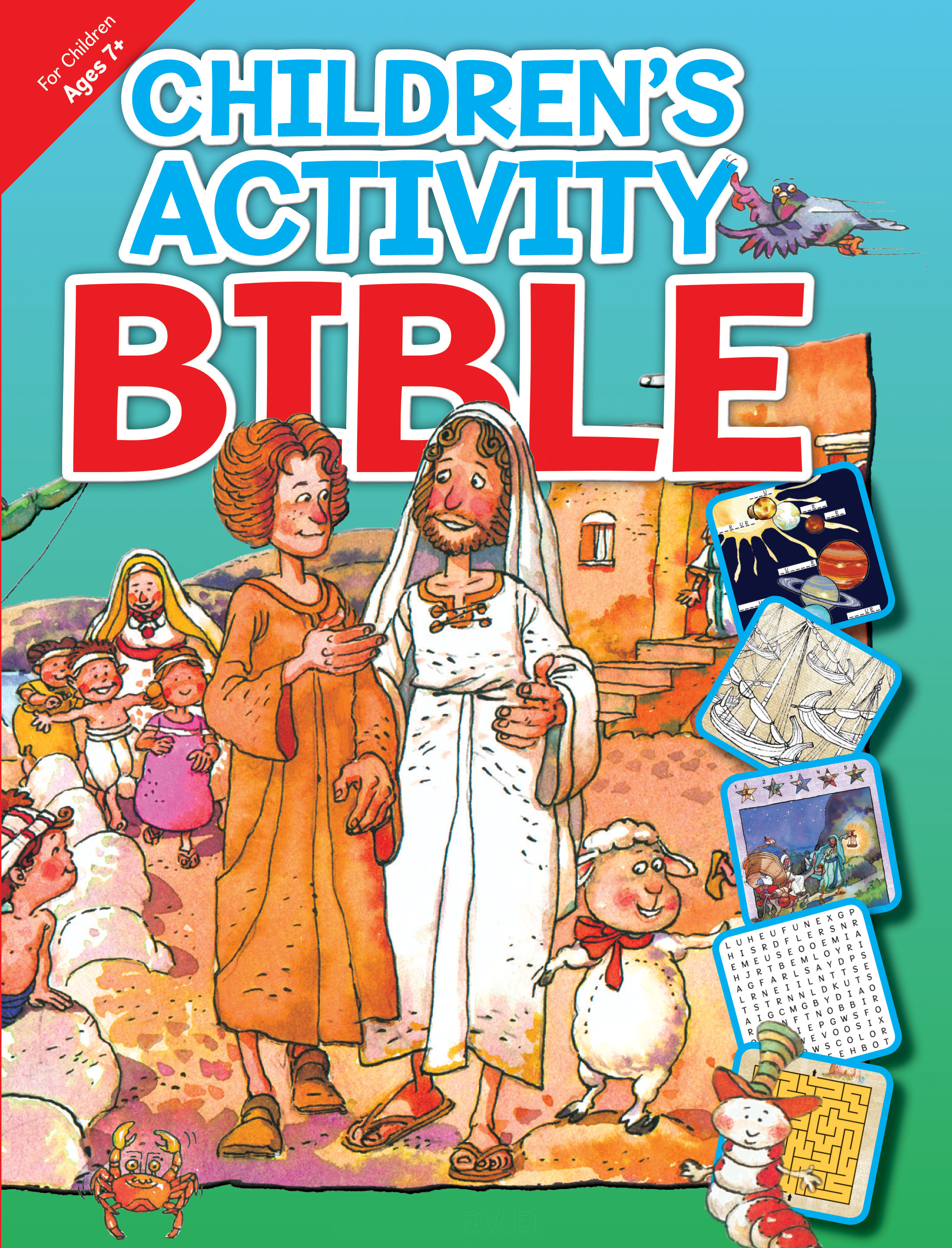 Children's Activity Bible - Ages 7 and up