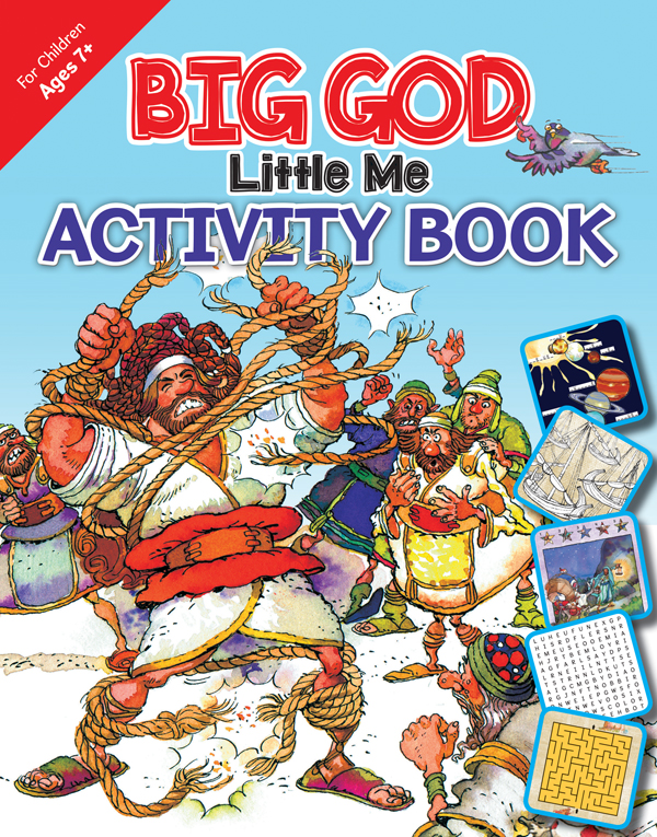 Big God, Little Me Activity Book, ages 7+