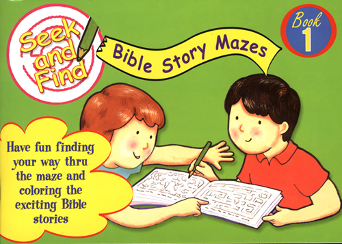Seek and Find Bible Story Mazes #1