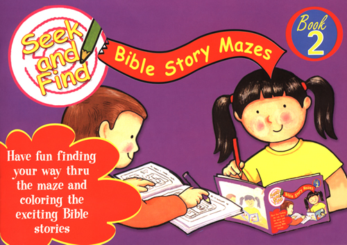 Seek and Find Bible Story Mazes #2