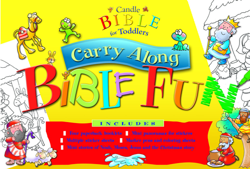 Candle Bible for Toddlers Carry Along Bible Fun