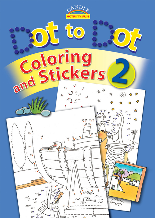 Dot to Dot Coloring and Stickers #2