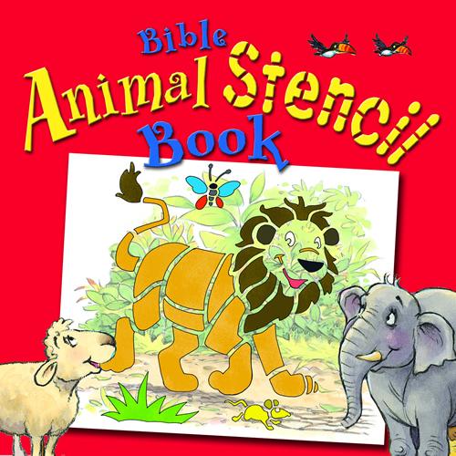 Bible Animal Stencil Book