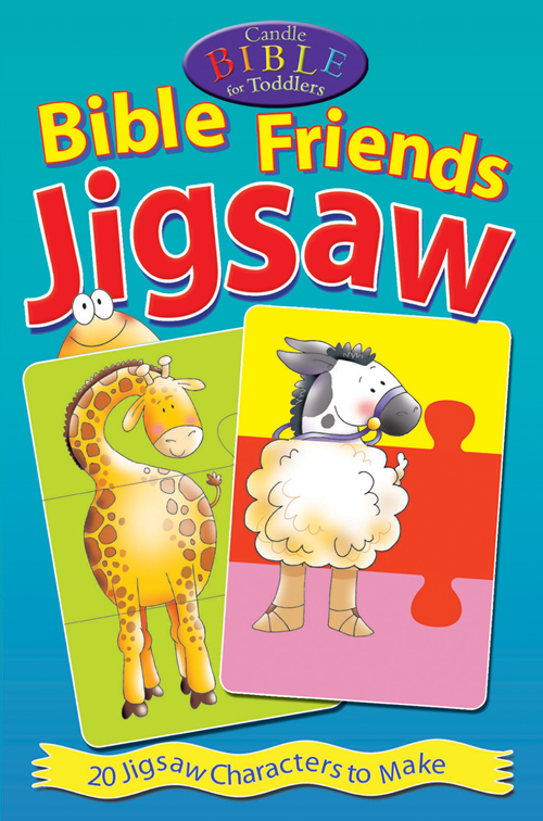 Candle Bible for Toddlers Bible Friends Jigsaw