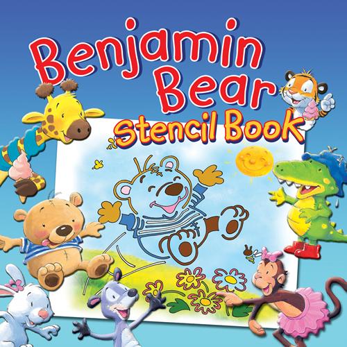 Benjamin Bear Stencil Book