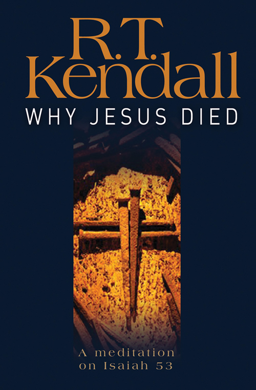 Why Jesus Died