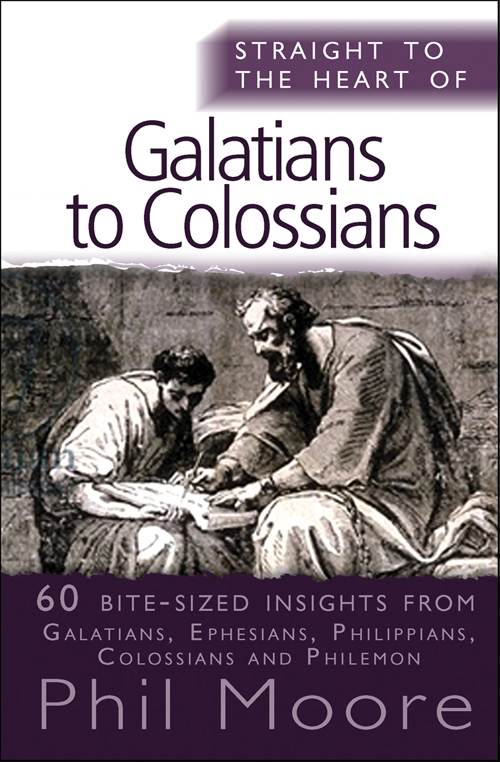 Straight to the Heart of Galatians to Clossians