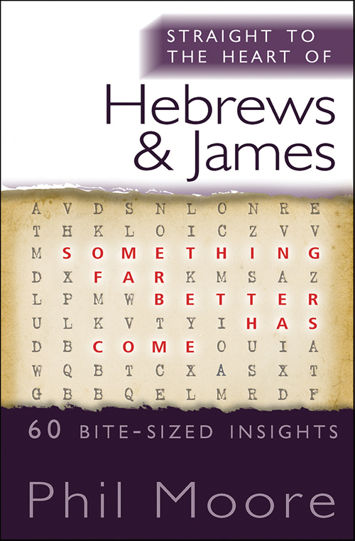 Straight to the Heart of Hebrews and James