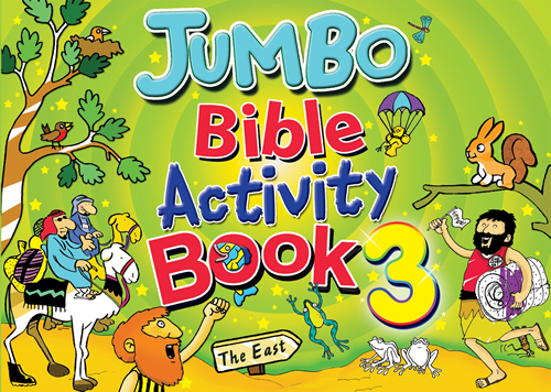 Jumbo Bible Activity Book #3
