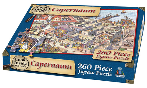 Look Inside the Bible - Jesus in Capernaum Jigsaw