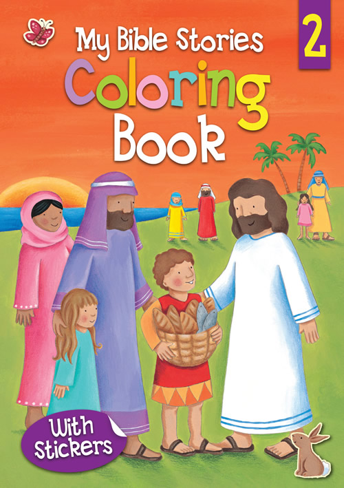 My Bible Stories Coloring Book 2