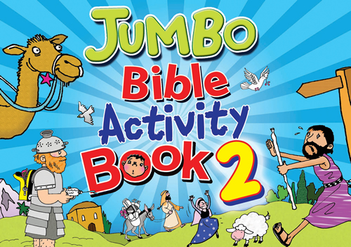 Jumbo Bible Activity Book #2