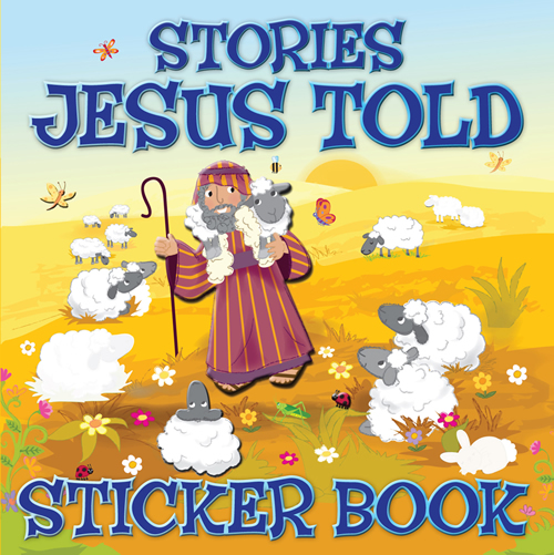 Stories Jesus Told Sticker Book