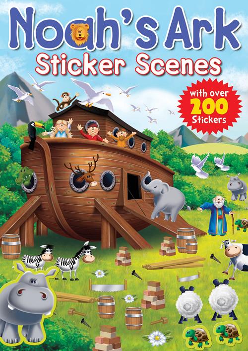 Noah's Ark Sticker Scenes
