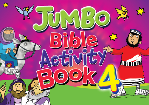 Jumbo Bible Activity Book #4