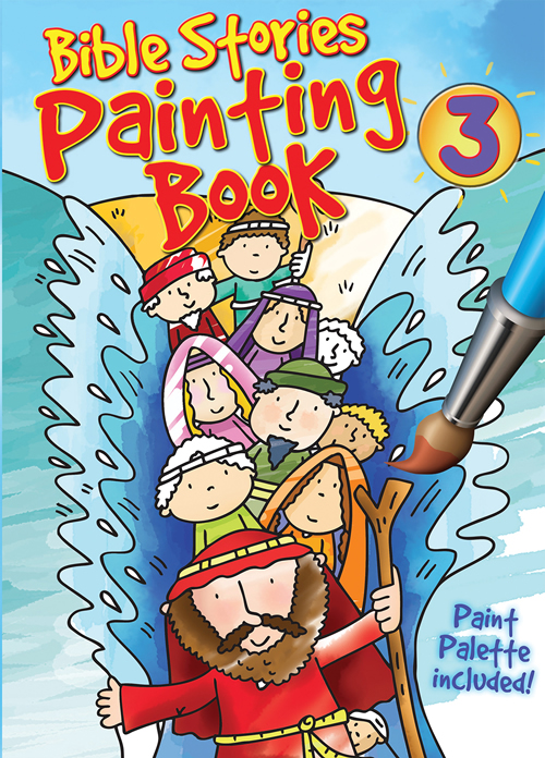 Bible Stories Painting Book #3