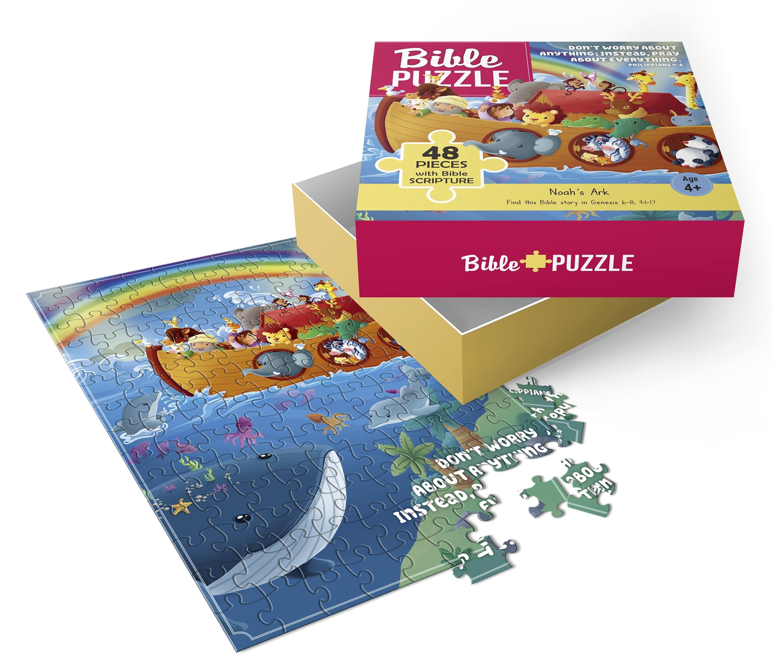 Noah's Ark puzzle - 48 pcs